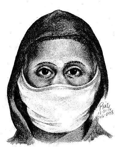 @HillsboroughPD release sketch of one of the suspects wanted in home-invasion robbery.