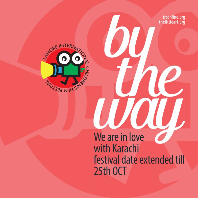 Don't miss world's best #films by,for and about children at Intl. Children's Film Festival #Karachi https://t.co/SfMhwX4tGA #LICFF16 #TLAORG https://t.co/tsAPg0r4Kh