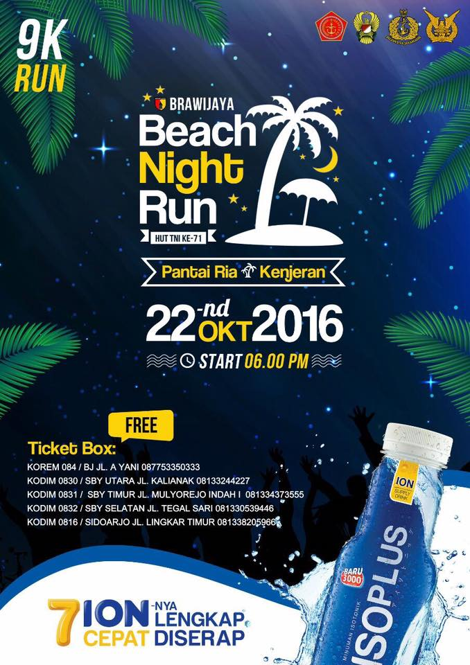 Brawijaya - Beach Night Run