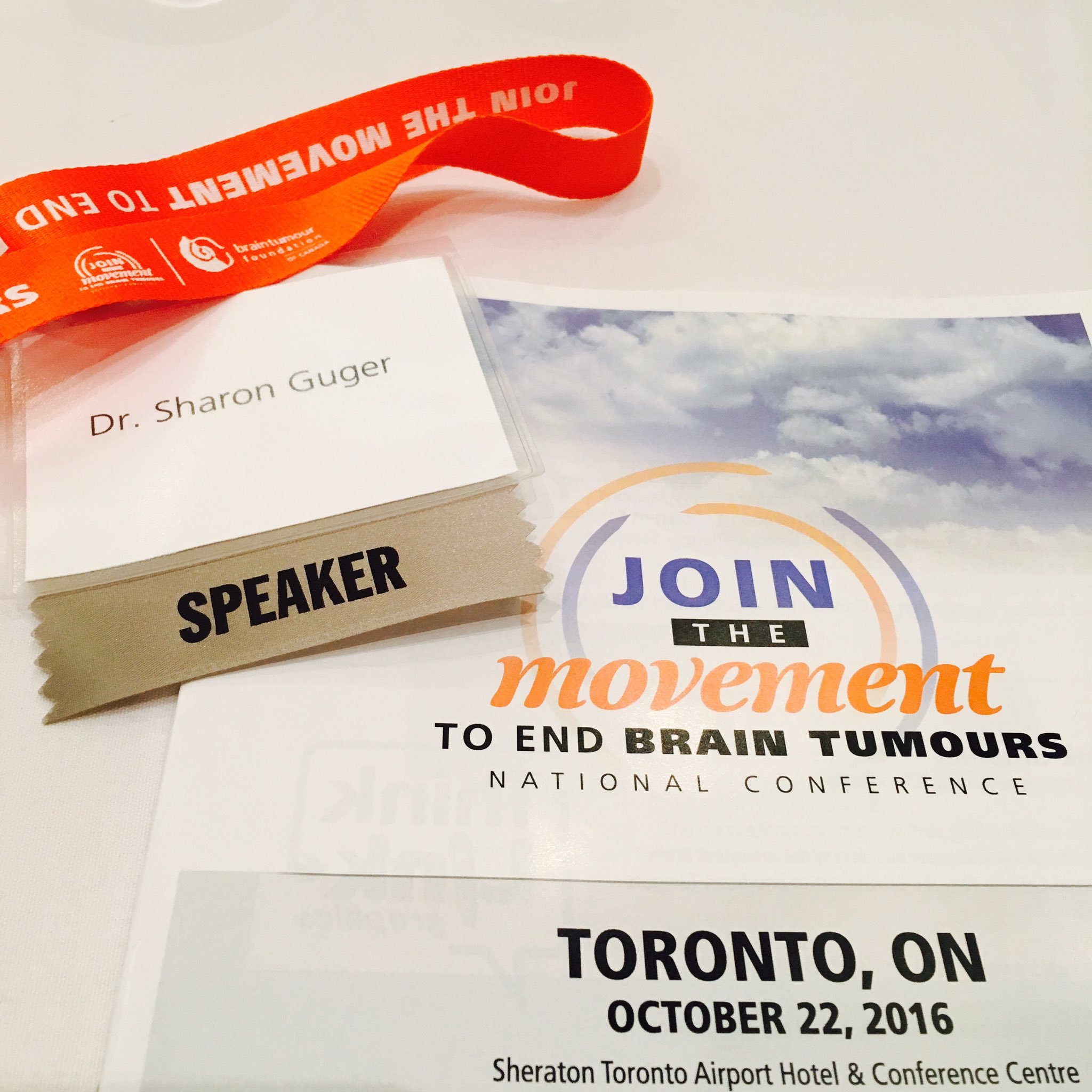 Great start at @BrainTumourFdn National conference. Excited & inspired... https://t.co/h1D1AHJ2ri
