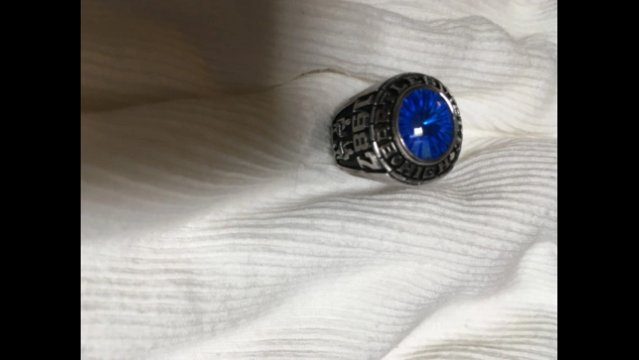 Fairfax police tech returns class ring to Marine