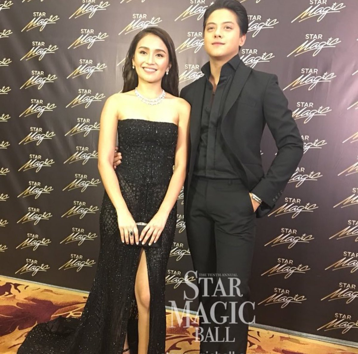 The King and Queen of Hearts #KathNiel #KathNielStarMagicBall2016 at the #StarMagicBall2016 https://t.co/vweYg6cy3Y