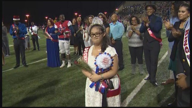 Special needs student receives honor of her life