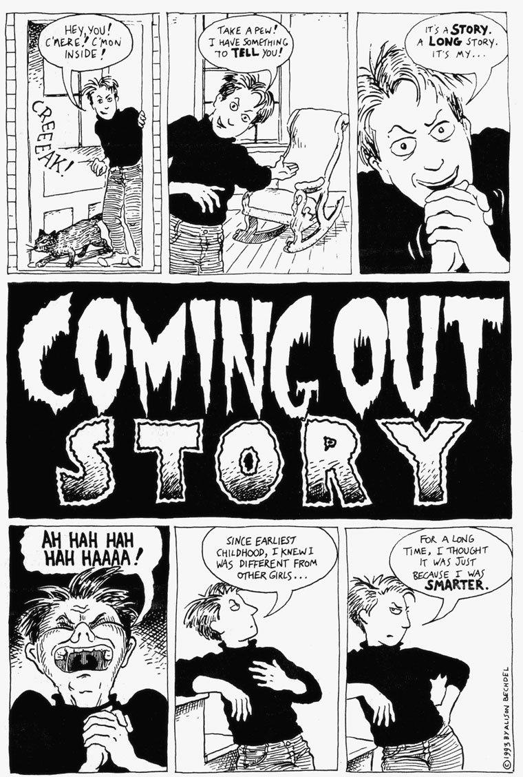 Lesbians comic strip