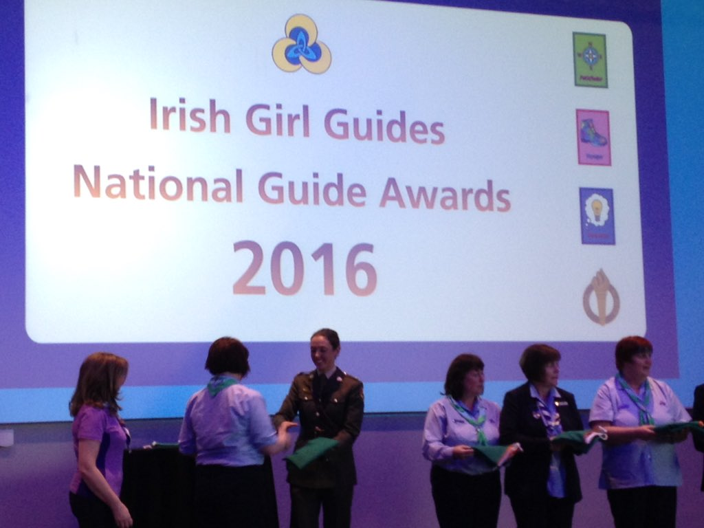 report on irish girl guides