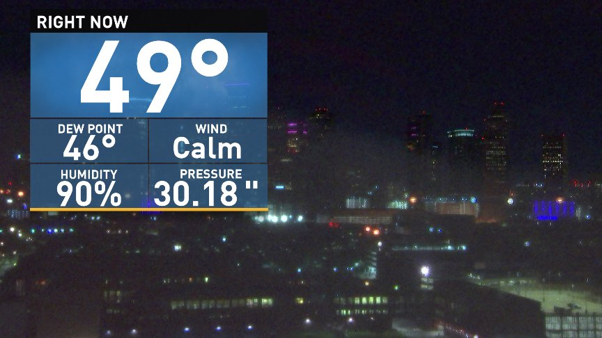 We did it! First 40s of the season arrive in Houston! Anybody else smiling?