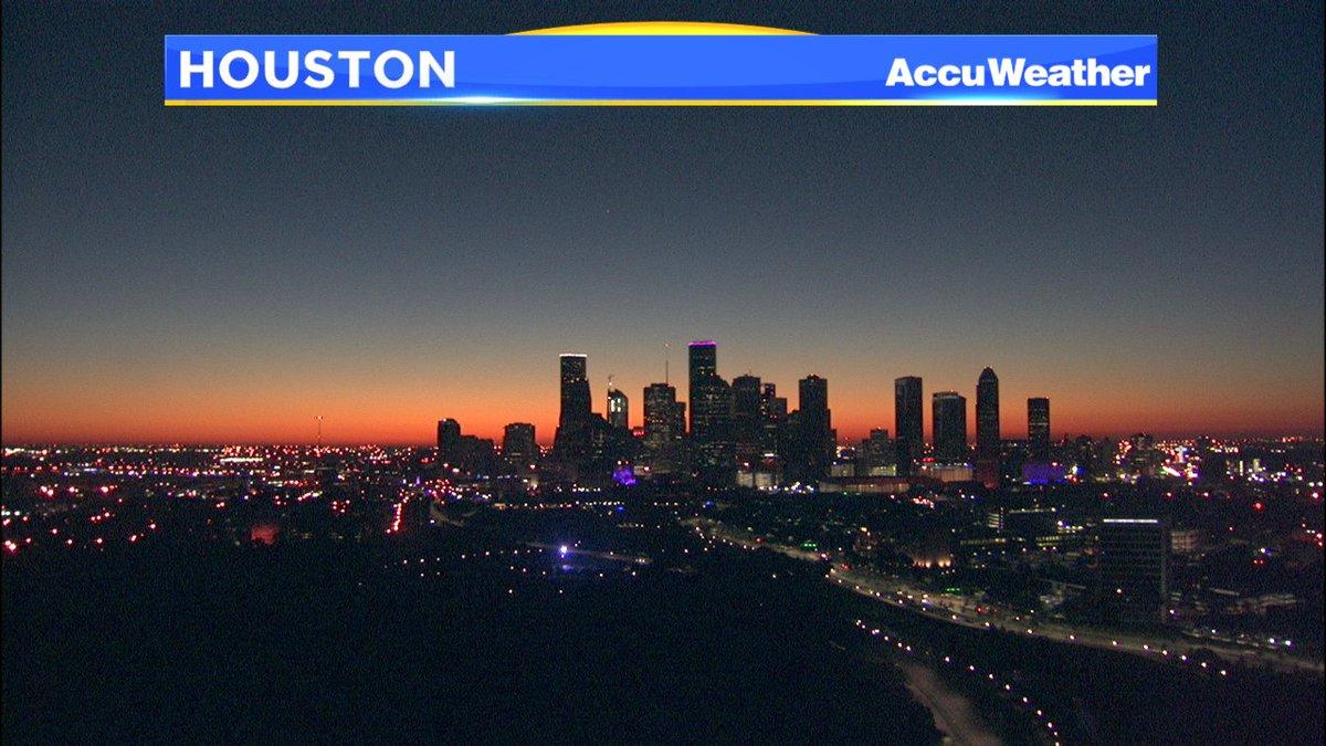 MY OH MY... Houston sunrise BestWeatherEver