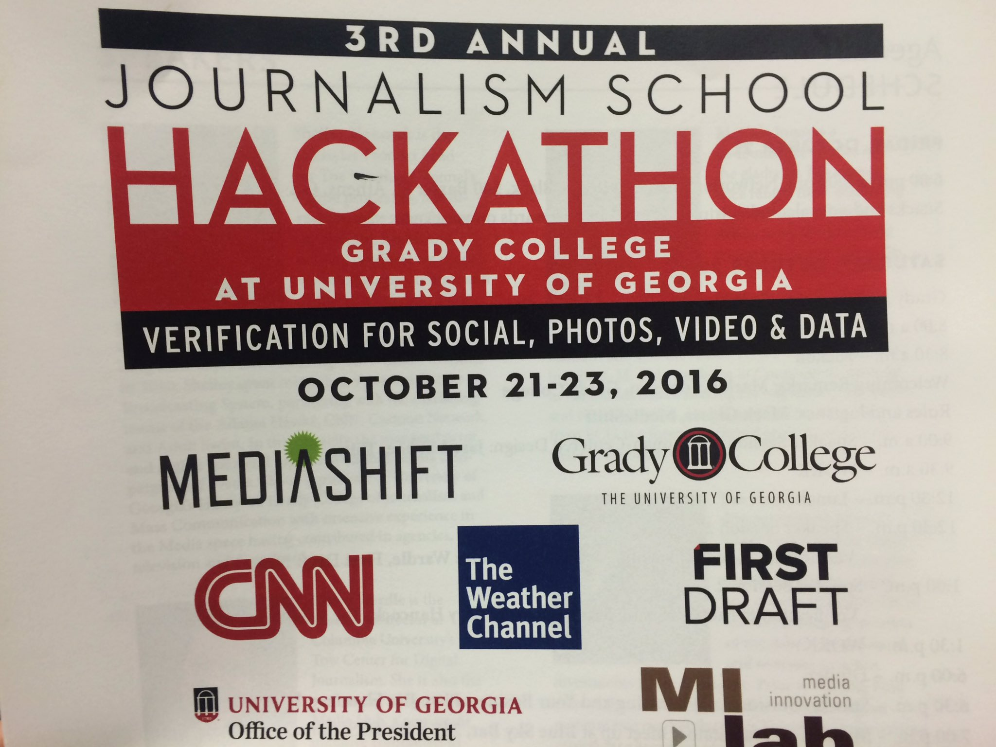 Thumbnail for 3rd Annual J-School Hackathon at UGA
