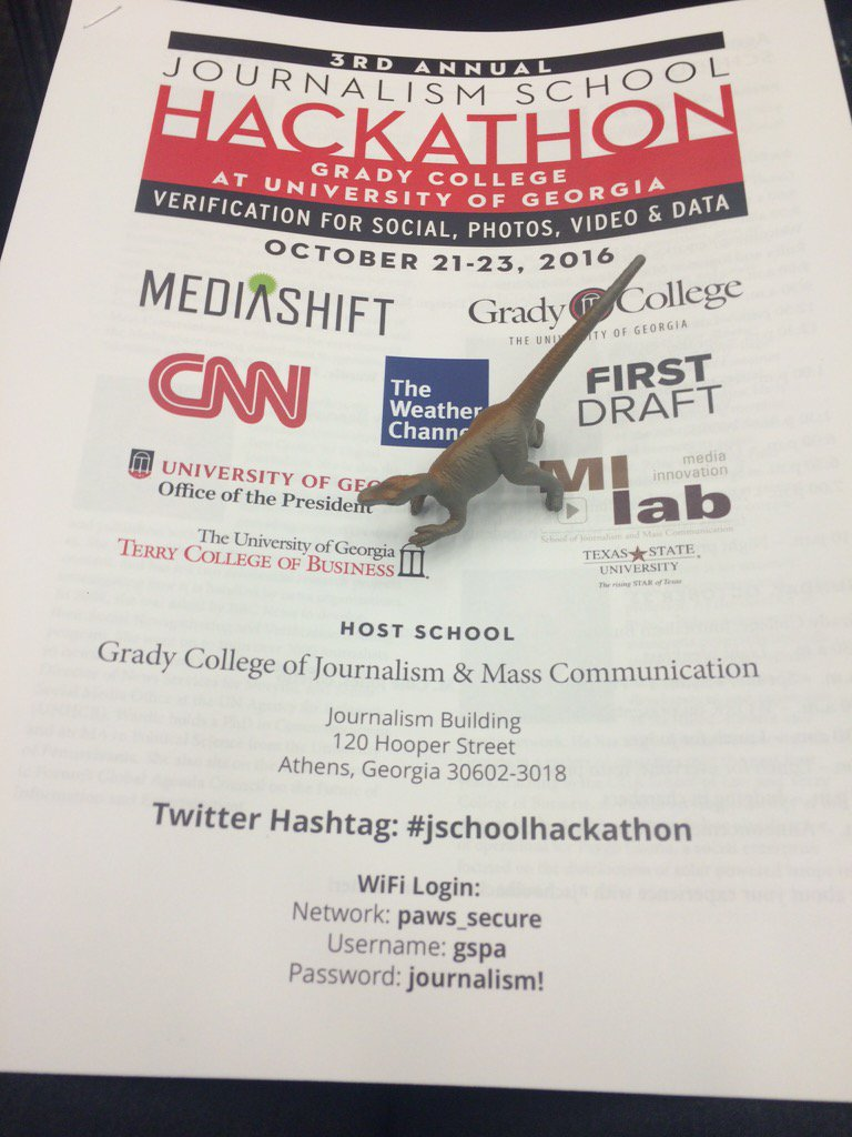 Thumbnail for 3rd Annual Journalism School Hackathon