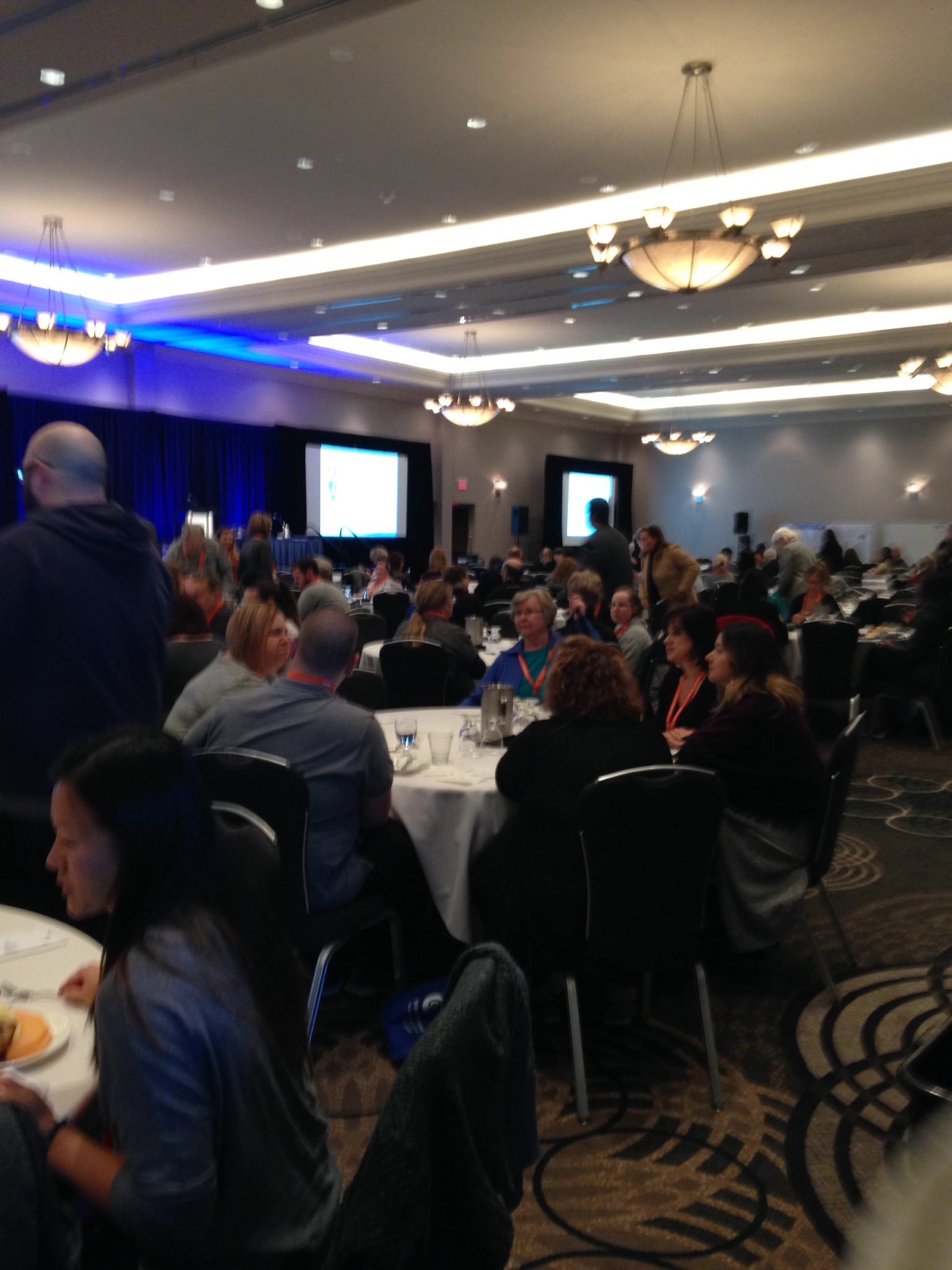 The #BrainTumour National Conference room is filling up! The live stream will be starting soon at https://t.co/eonXdDJuEb @StreamingInc https://t.co/F6HmzFAcAC