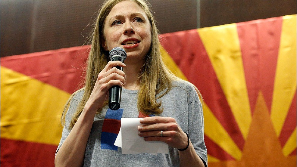 Chelsea Clinton to speak today at Town Hall Seattle >>