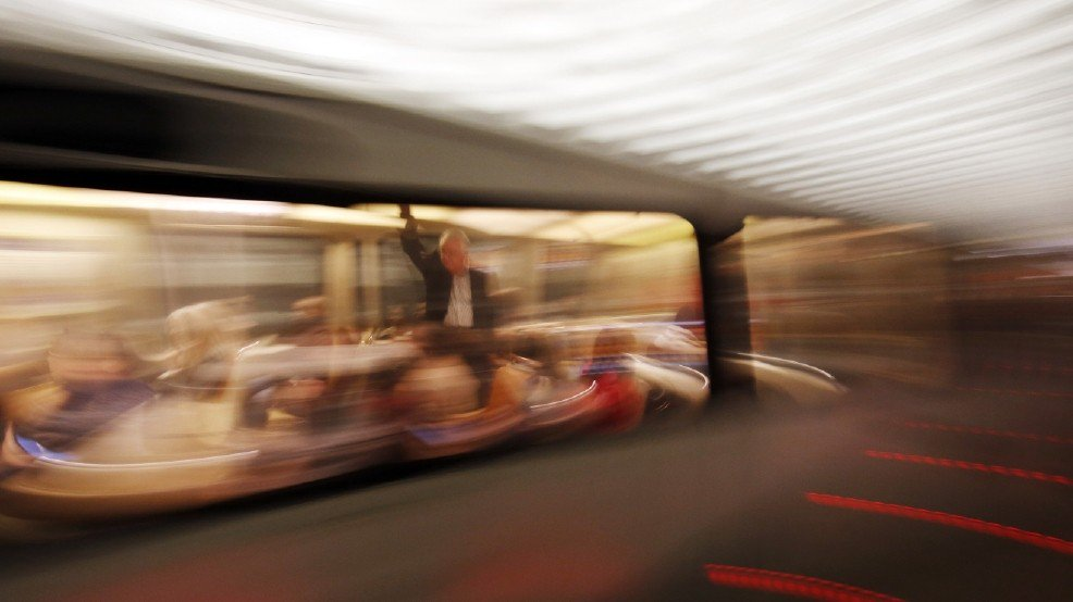 2 track inspectors nearly hit by speeding Metro train