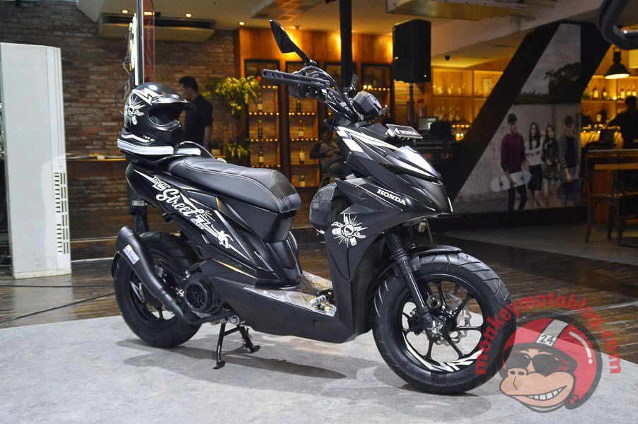 "Vandragade On Twitter: ""Honda Beat Street Modifikasi Ban"
