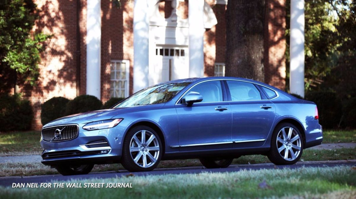 Volvo Luxury Sedans Photos