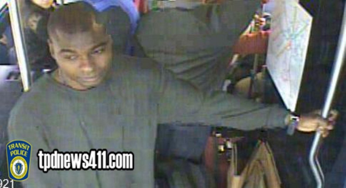 Police release image of 'person of interest' in indecent assault on MBTA bus