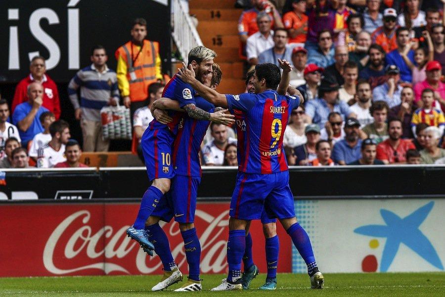 Video: Valencia vs Barcelona