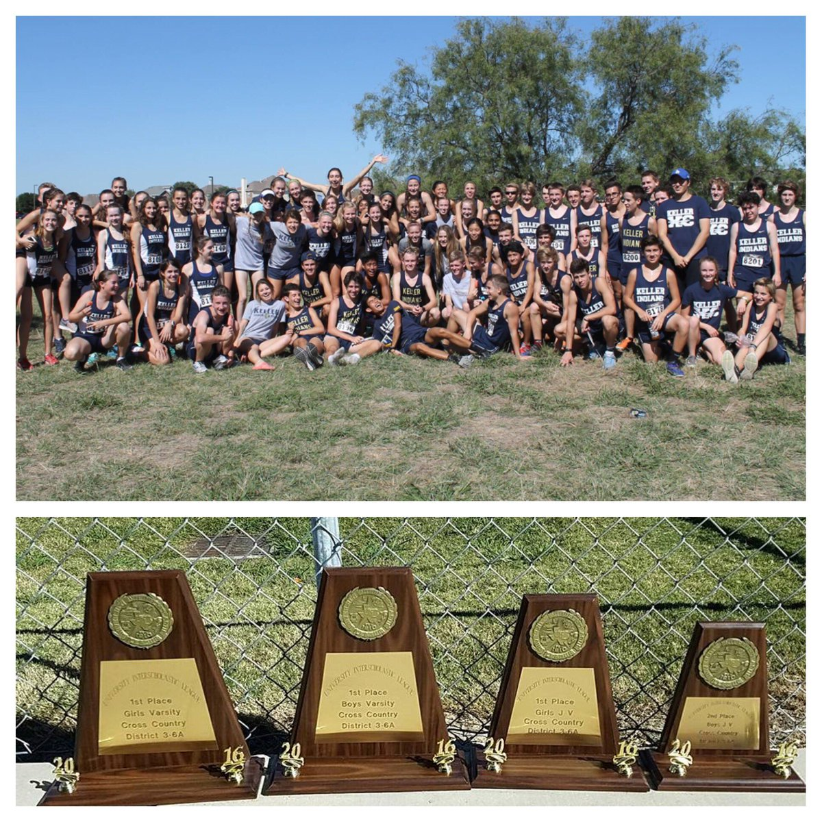 It was a great Friday. 3-6A District Champs: Varsity Boys/Girls and JV Girls. JV Boys 2nd. Headed to Lubbock for Regionals! #rememberthegoal <br>http://pic.twitter.com/KECEN0UqIu
