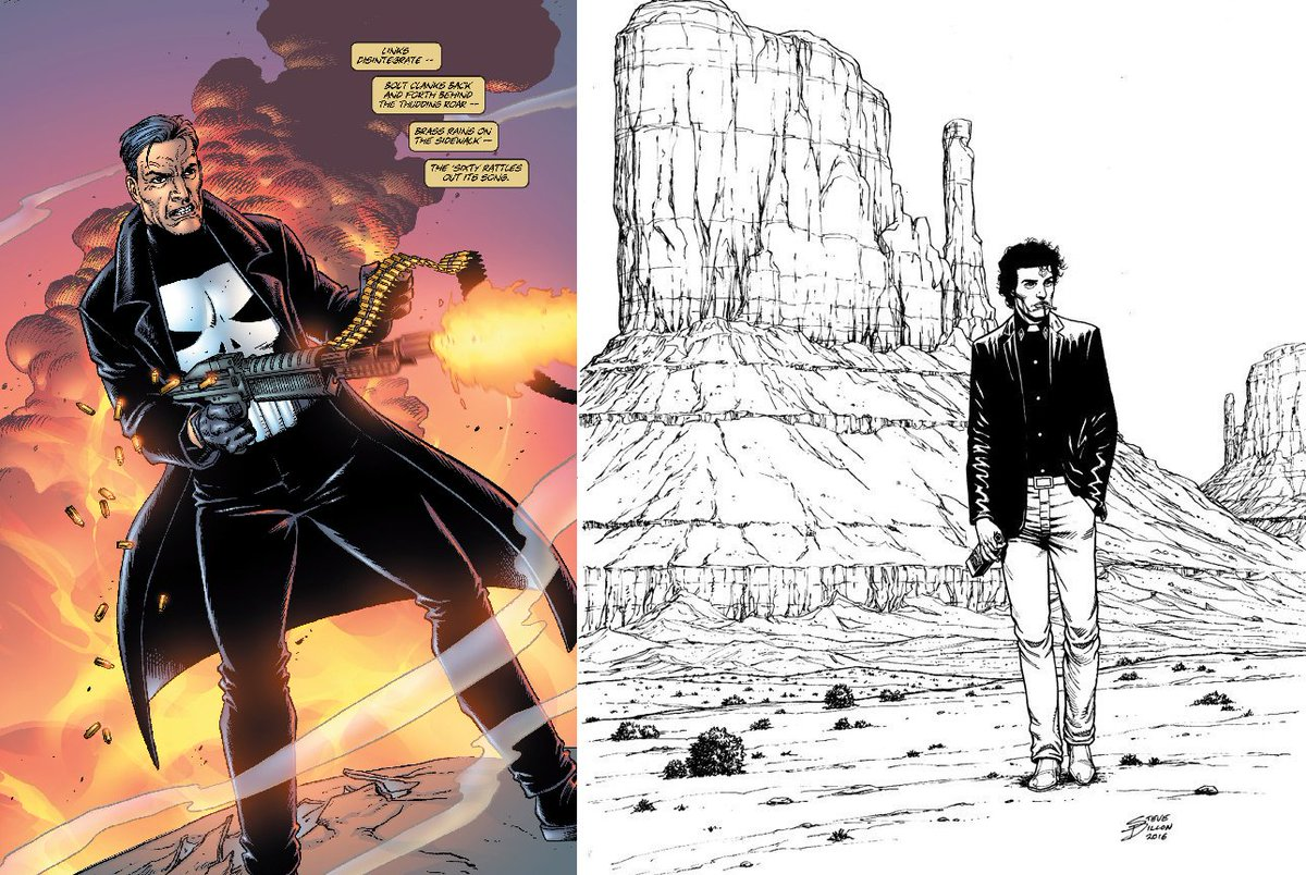 Thank you for all of your amazing work on comics like Preacher and Punisher, Steve Dillon. RIP, sir. https://t.co/DKYv9wttqL