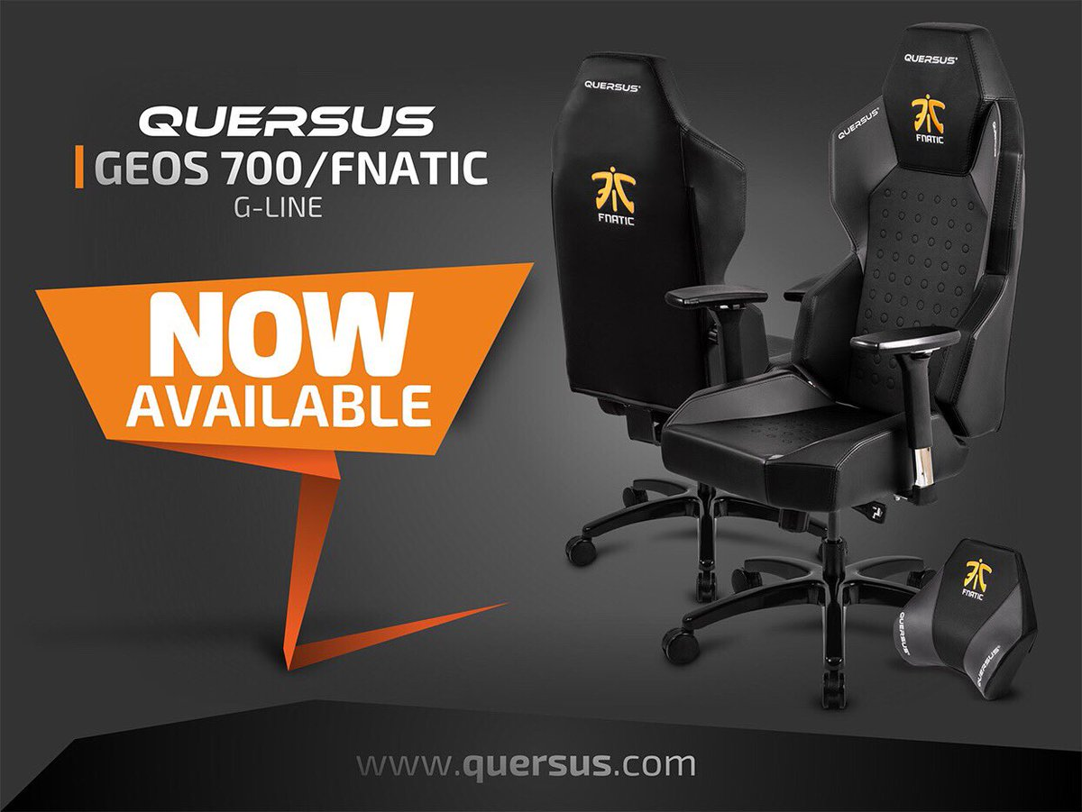 Sensational Quersus On Twitter The Quersus Geos Fnatic Edition Is Now Machost Co Dining Chair Design Ideas Machostcouk