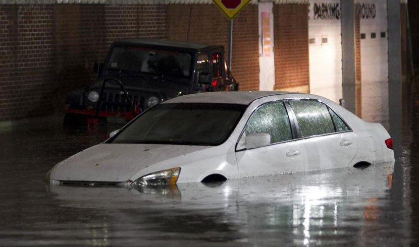 Flooding closed streets, stranded motorists across Mass. after heavy rain Friday night