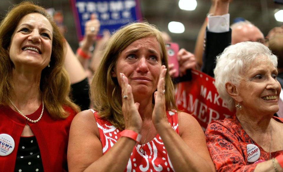 Donald Trump rally shows that unifying a divided nation won't be easy, @speechboy71 says