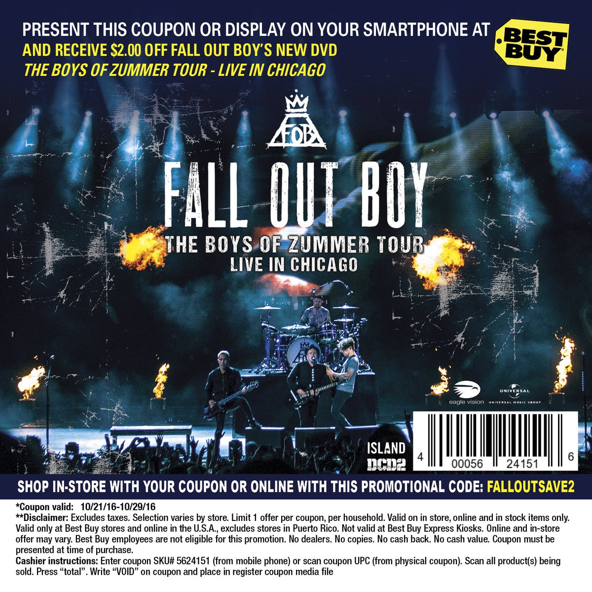 9715d3216 Fall Out Boy on Twitter:
