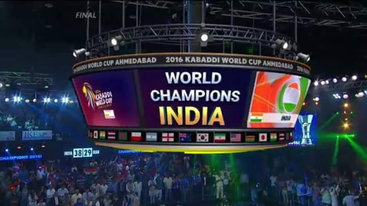 India invented Kabaddi & r World Champs for 8th time.Elsewhere some country invented Cricket & r yet only good in c… https://t.co/zQw1RBU1Pd