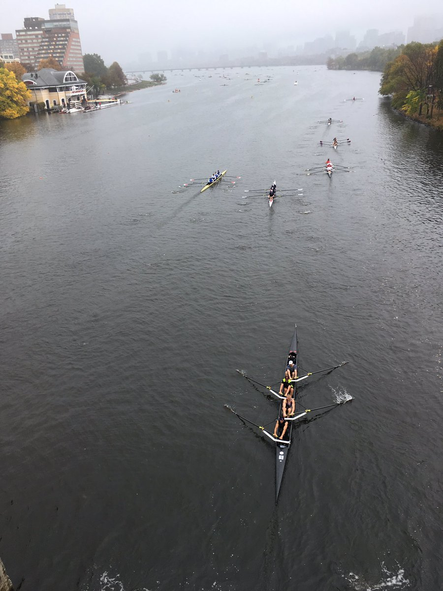 Rowers gather for the head of the Charles Regatta HOCR52
