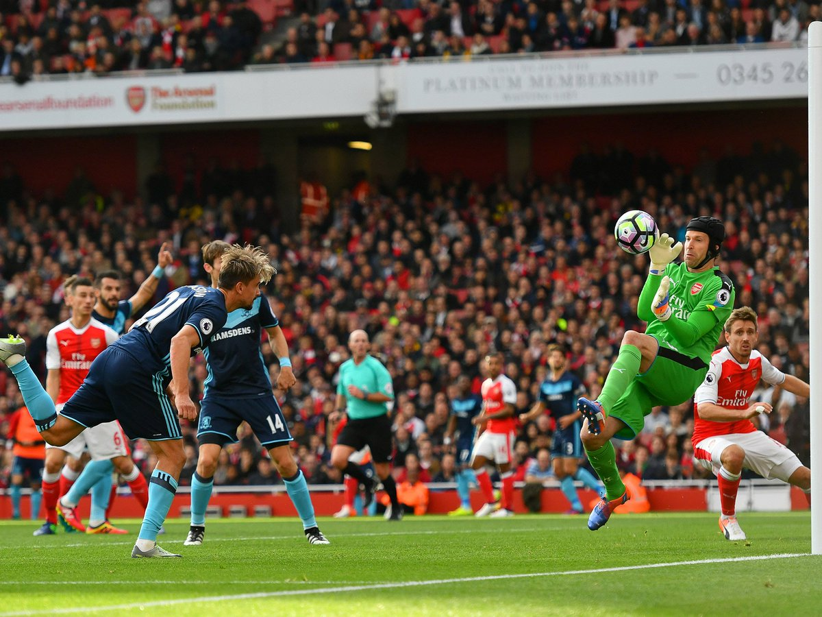 Cech: The problem we are having