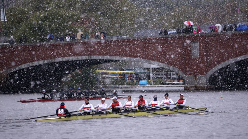 Check out the legendary Head of the Charles course