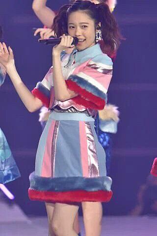 可愛い髪型の島崎遥香