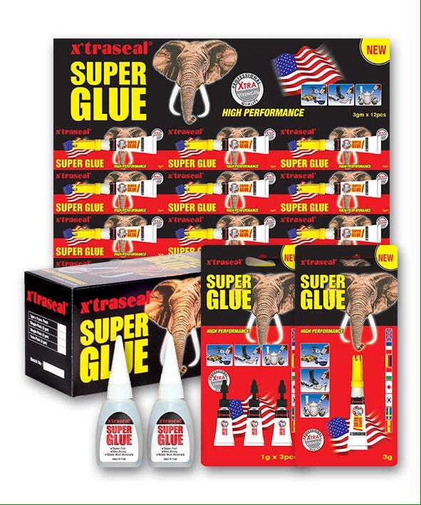 """Ritirato l'adesivo cinese """"Super Glue"""" per rischio chimico del Cloroformio."""
