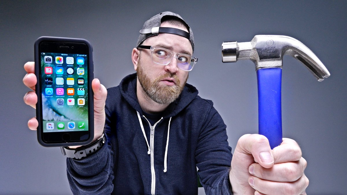 NEW VIDEO - iPhone 7 - Will It Shatter? - https://youtu.be/jmcc-15Z234?list=PL7u4lWXQ3wfI_7PgX0C-VTiwLeu0S4v34… 🔥 🔥 🔥 RT!
