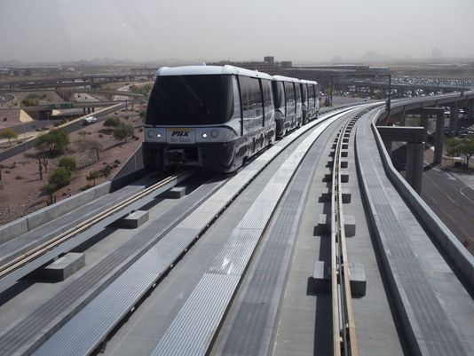 Sky Harbor wants to extend Sky Train, add more gates