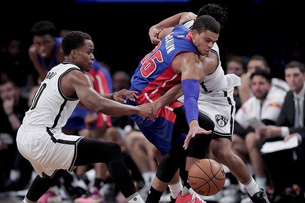Ray McCallum Jr. earns Pistons' final roster spot. From @detnewsRodBeard --