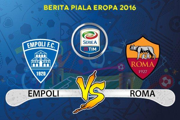 Vedere EMPOLI-ROMA Rojadirecta Streaming Calcio Gratis e Diretta TV Oggi 30 ottobre 2016, come dove quando