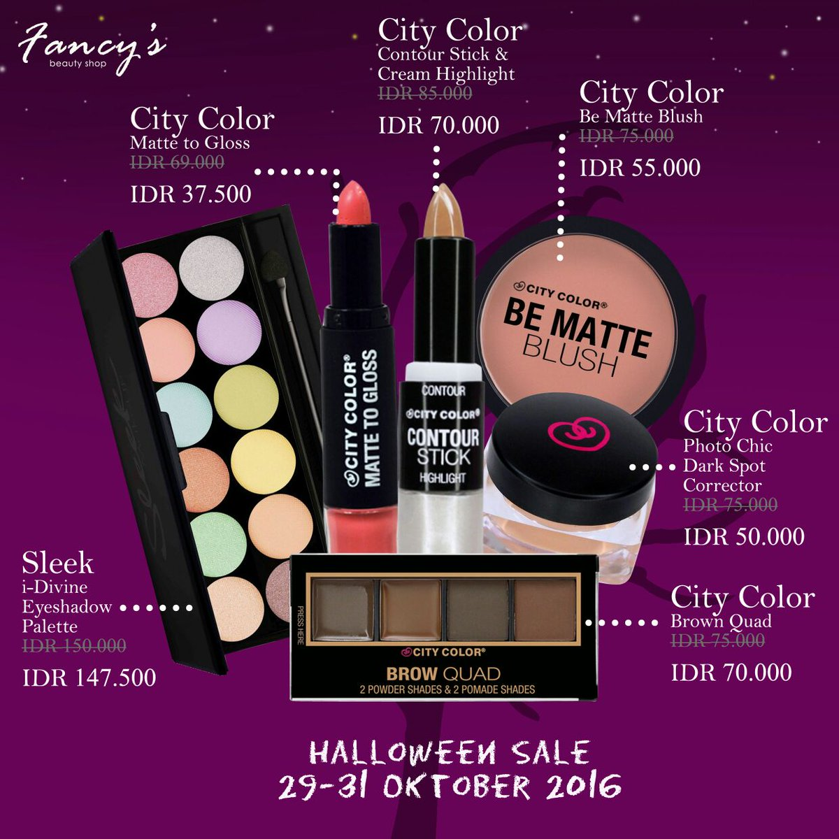 Makeupori Twitter Search City Color Brow Quad Medium