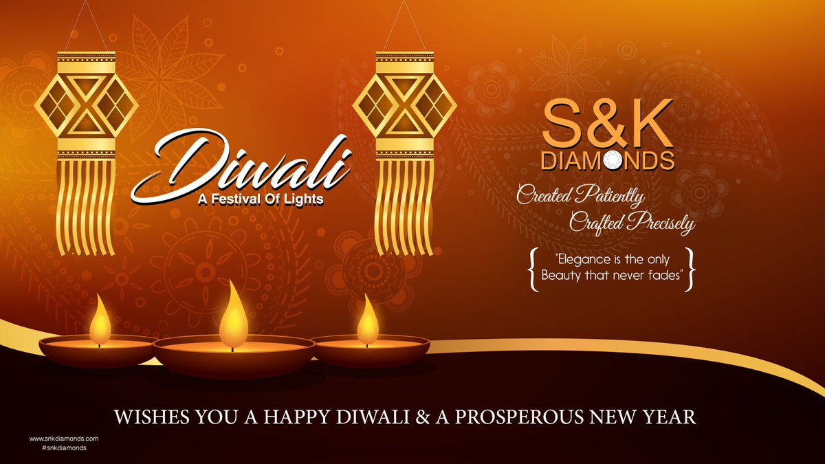 Sk Diamonds On Twitter Wishes You A Happy Diwali And A Prosperous