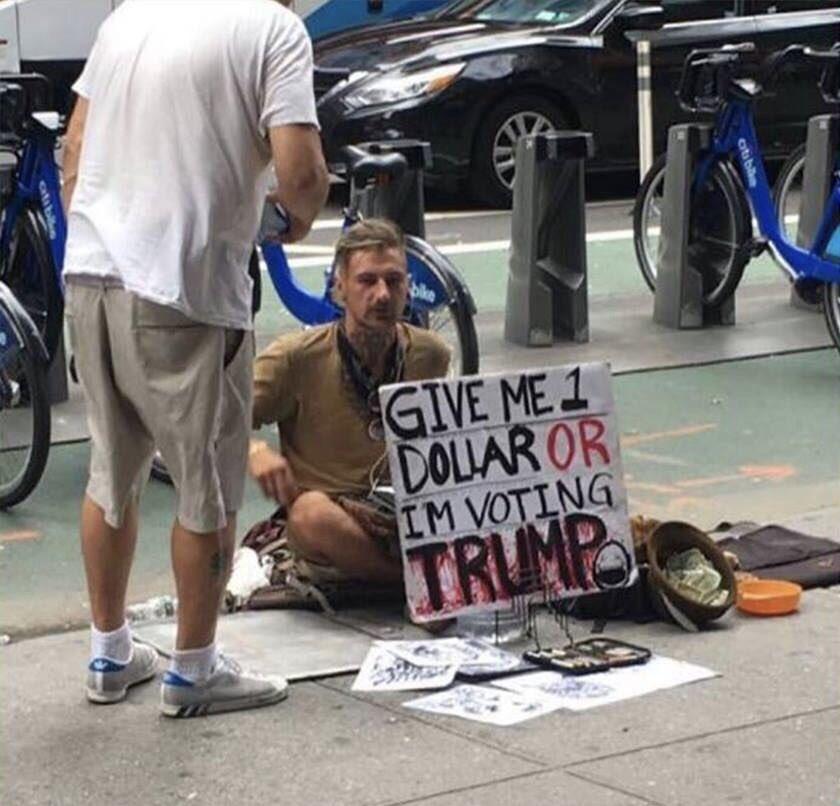 $1 or Trump