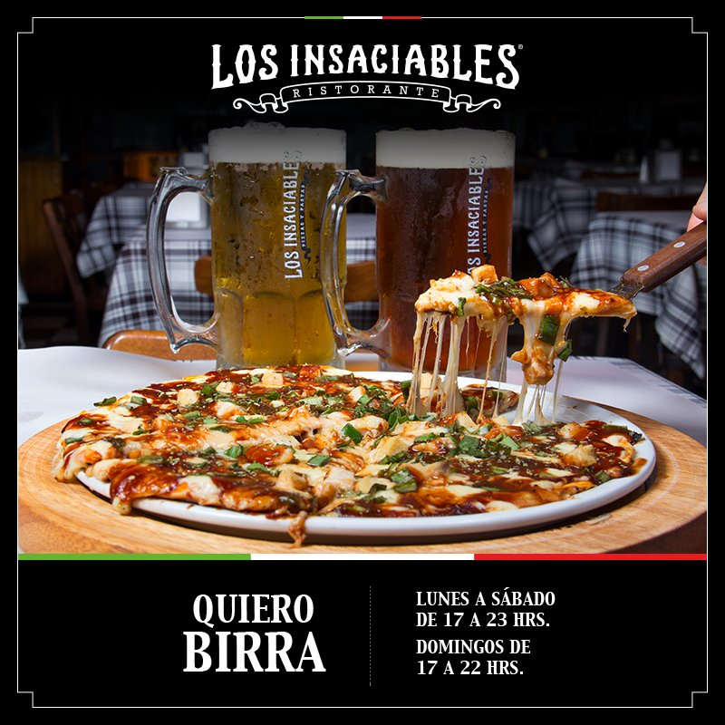 #SemplicementePizza y aquí la acompañamos con #Birra Reserva la tuya en https://t.co/RLeHWL3MwS https://t.co/T6AbphB8nh