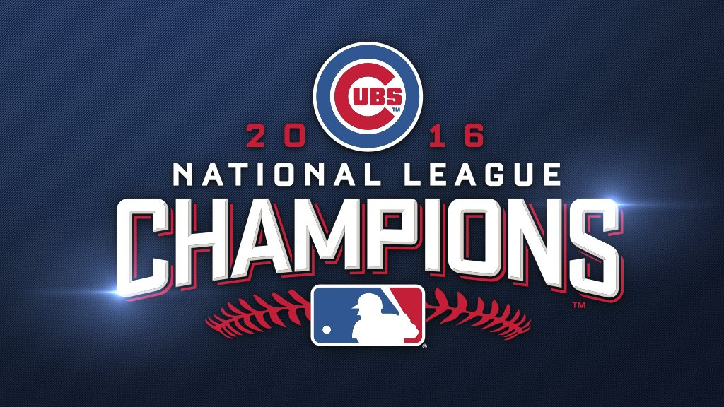 The Chicago Cubs are going to the World Series! #FlyTheW