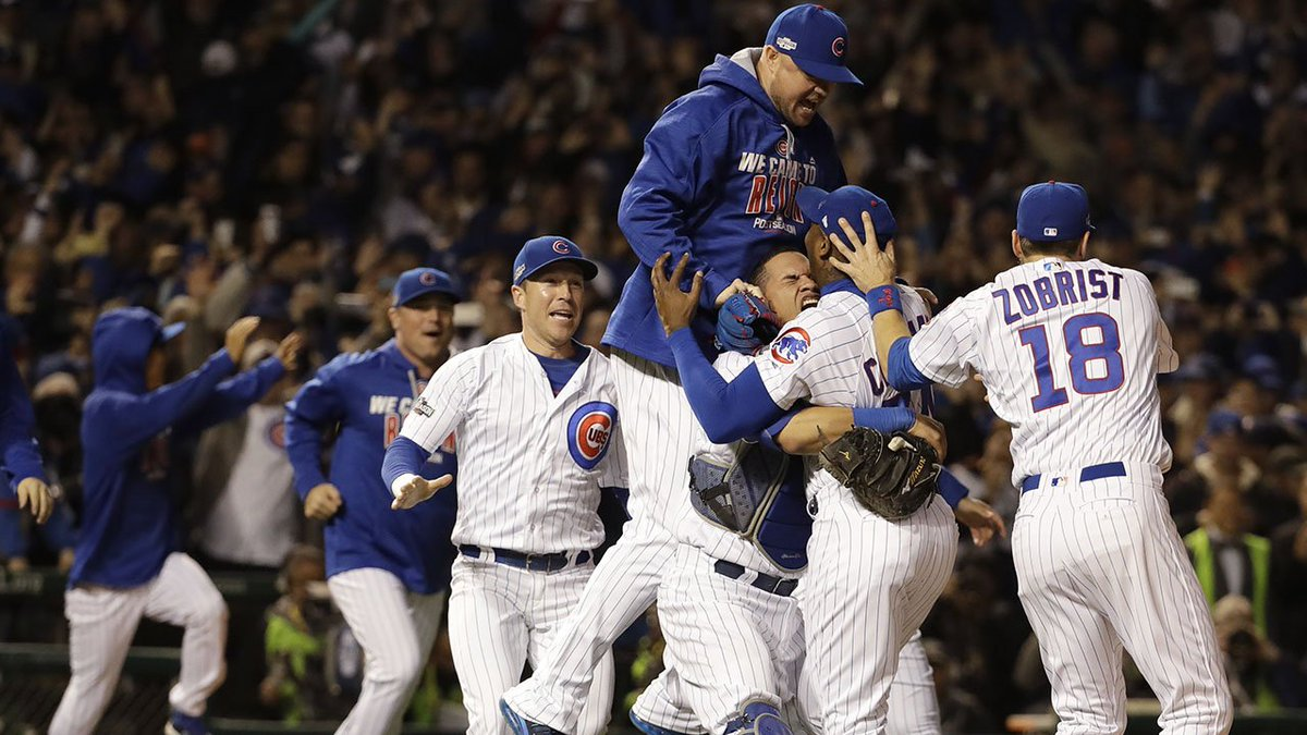 Chicago Cubs head to World Series for first time since 1945