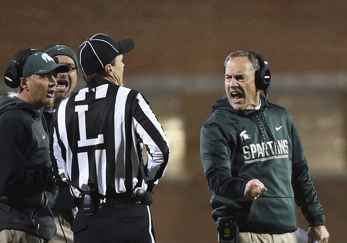 FINAL: Maryland 28, Michigan State 17; Spartans lose fifth straight