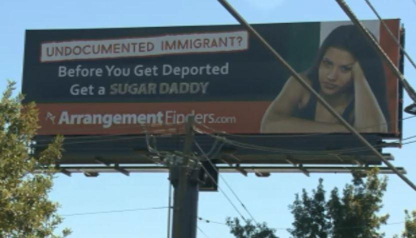 Matchmaking billboard targeting illegal immigrants upsets law enforcement »