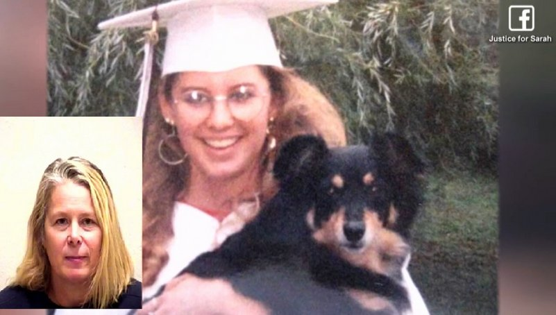 Woman, 48, arrested in cold-case killing of college student butchered to death in 1989