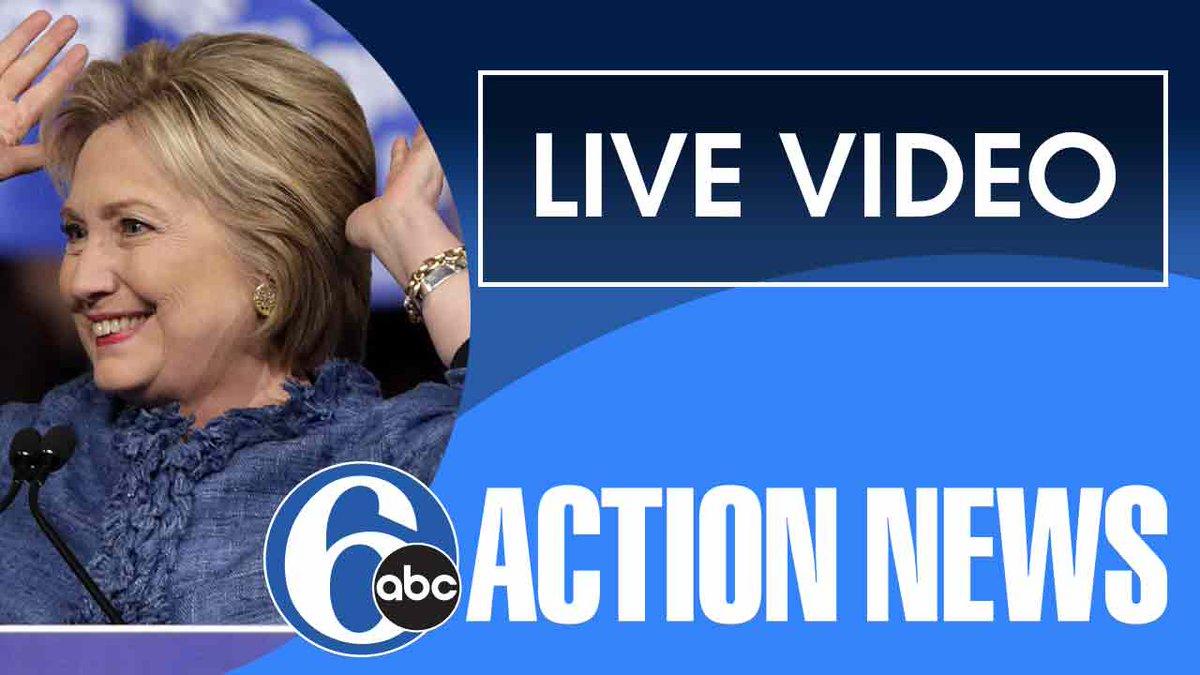 LIVE VIDEO: Hillary Clinton speaks at University of Pennsylvania