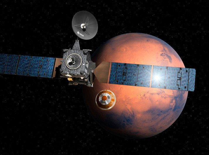 Hard crash-landing may have wrecked Europe's Mars probe