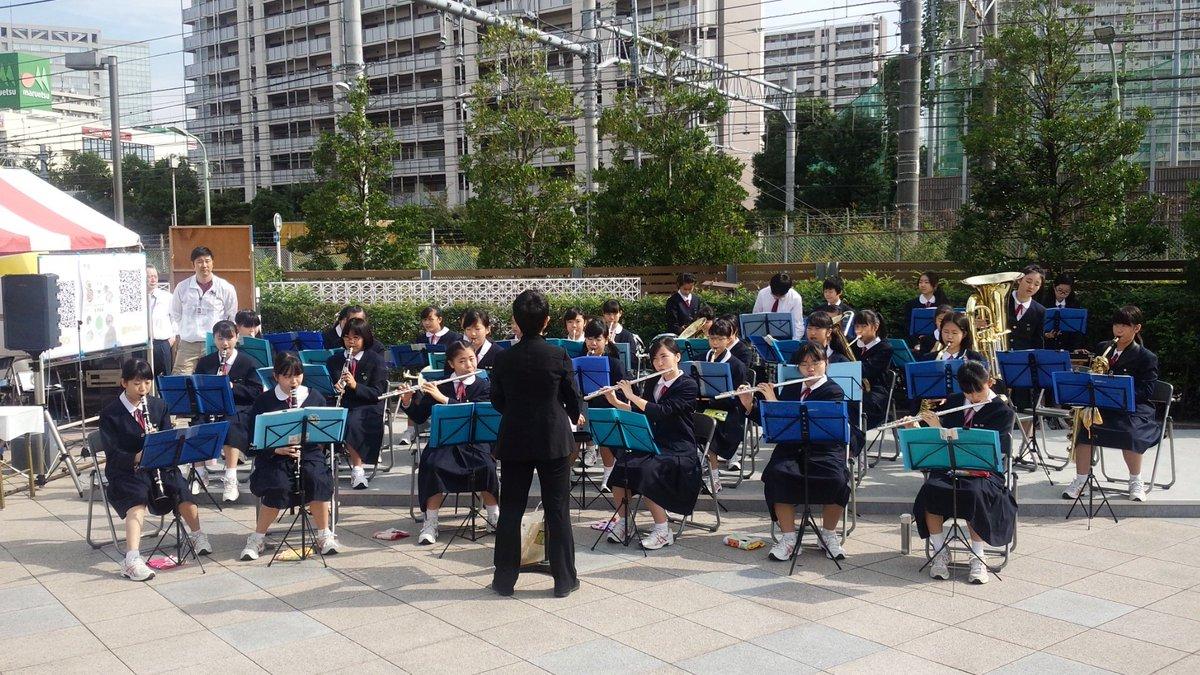 2016年10月 富士通くすの木祭吹奏楽部演奏