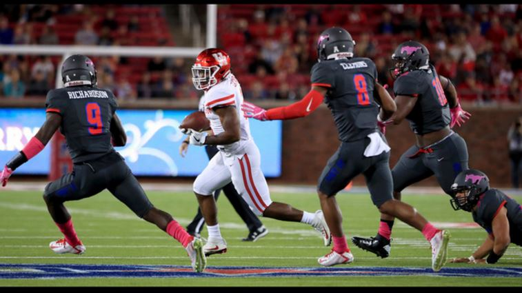 SMU stuns No. 11 Houston 38-16 by shutting down QB Greg Wardkprc2