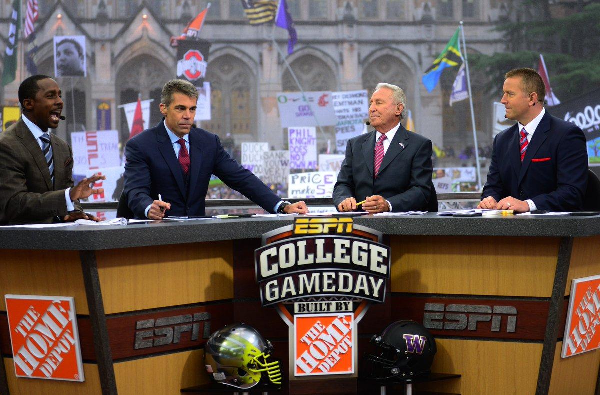 ESPN's 'College GameDay' headed to Salt Lake City for UW-Utah >>